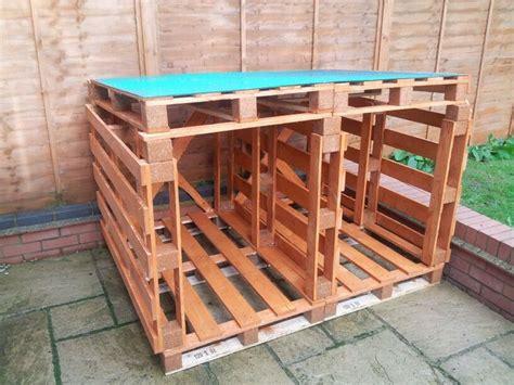log store  wood pallets diy pinterest home plans