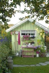 cool shed ideas cool green potting shed design ideas