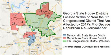 georgia state house districts morning digest nervous georgia gop re gerrymanders state