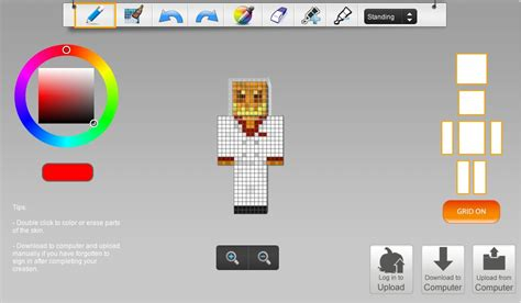 Skin Ide skin editing programs minecraft