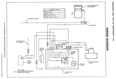 car ac wiring diagram air conditioning wiring diagram pdf