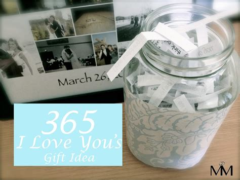 diy wedding anniversary gift for husband diy 2 year anniversary gift idea the 365 reasons why i