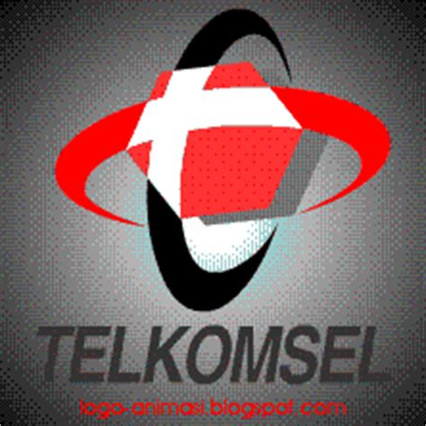 animasi logo telkomsel gambar bergerak format gif