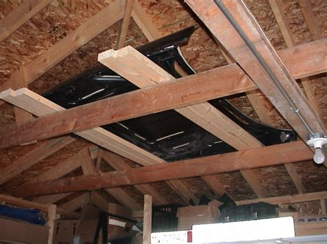 Garage Storage In Rafters Welcome To The Automotive Links Page