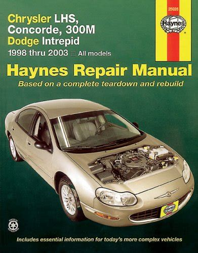 car service manuals pdf 1995 chrysler lhs on board diagnostic system chrysler lhs concorde 300m dodge intrepid 1998 2003 haynes repair manuals pdfsr com