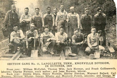 Lafollette Press Records Sectiongang