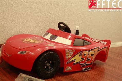 lightning mcqueen motorized car lightning mcqueen electric car speed shop kid