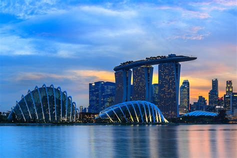 beautiful places  visit  marina bay singapore