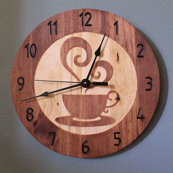 cool house clocks coffee cup clock teacup clock wood clock from