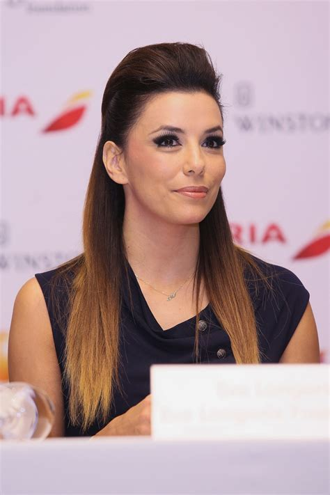 up do hair stylest gallery 2014 no barrette steal this hairstyle idea from eva longoria