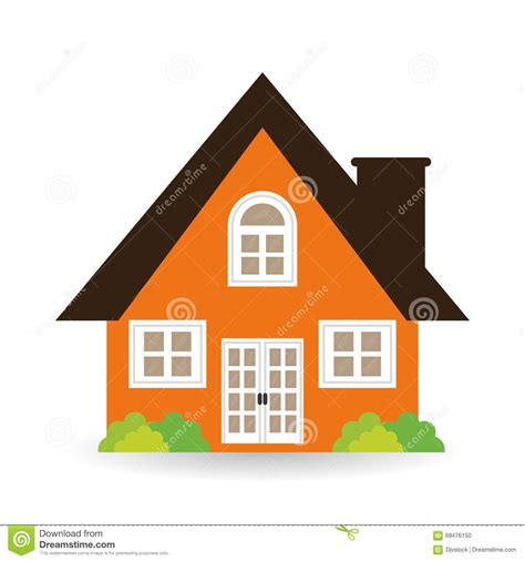 the graphic design house house icon design vector illustration stock vector image 69476150
