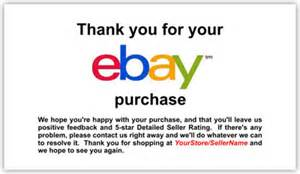thank you card images gallery ebay thank you cards ebay business card sles ebay thank you