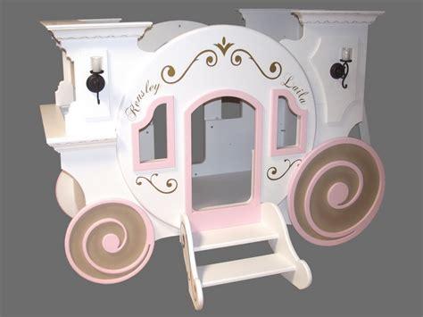 blueprints for the cinderella princess carriage bunk bed