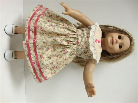 Handmade American Clothes - handmade american doll clothes summer dress with