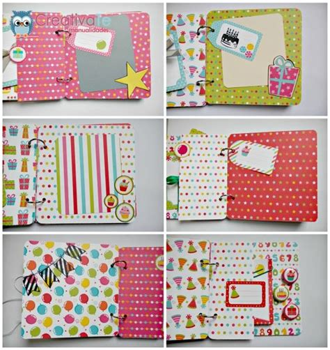 scrapbook tutorial blog tutorial album scrapbooking paso 9 pinteres