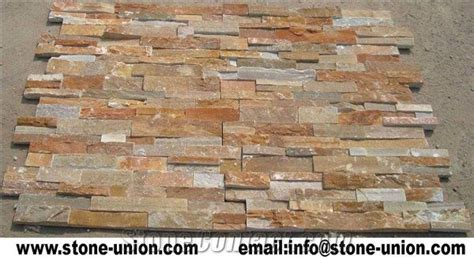 ledge stone panel usa p014 golden quartzite stacked cultured veneer ledge walling panel culture