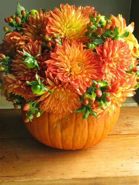 eddie ross traditional and untraditional pumpkin arrangements