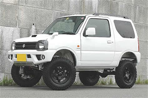 Suzuki Jimny Road Modifications Subcompact 4x4 The Suzuki Jimny Subcompact Culture
