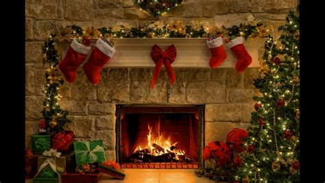 christmastree gifs search find make share gfycat gifs christmas fireplace burning gifs search find make