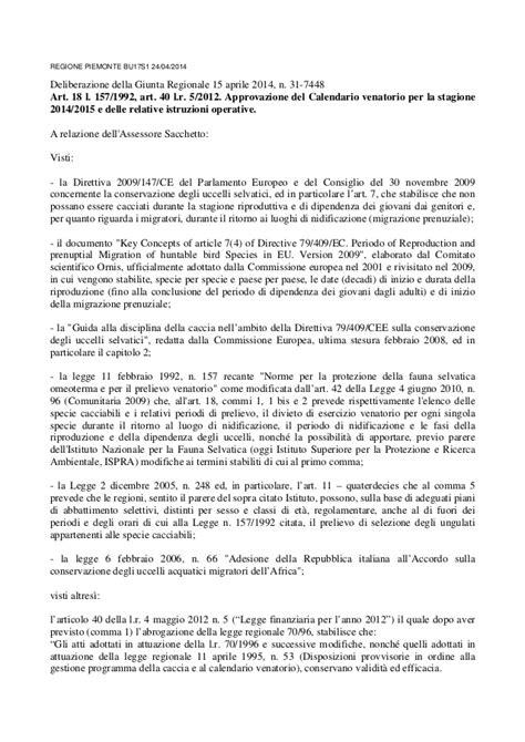 Calendario Venatorio 2015 Calendario Venatorio Piemonte 2014 2015