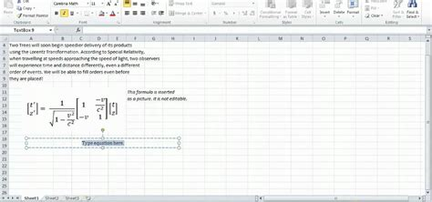 Mat Excel by How To Work With Math Equations In Microsoft Excel 2010