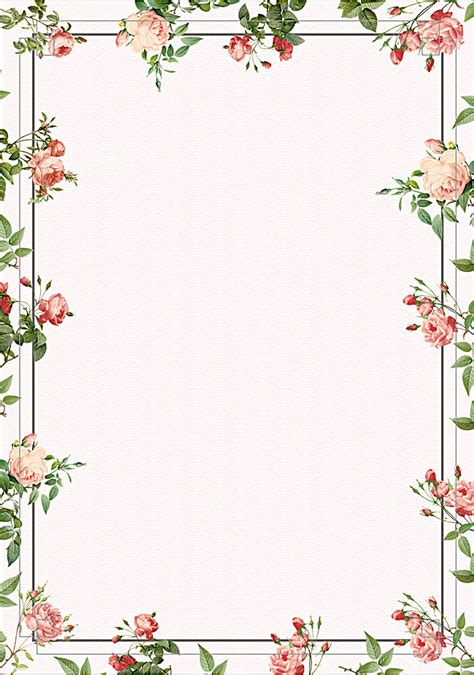 vintage floral frame backgrounds border frames ppt vintage flower border flowers ideas for review