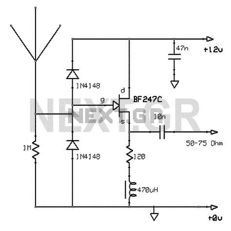 active antenna circuit antenna circuits rf circuits next gr