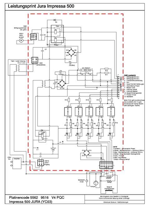 Jura Capresso Impressa Wiring Diagrams Heating Circuit
