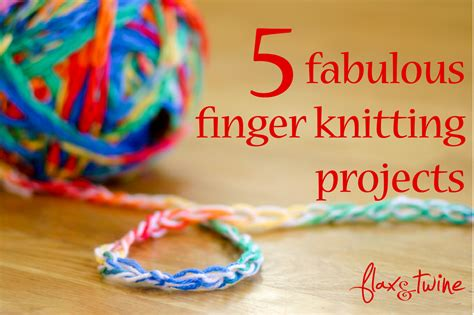 finger knit projects trends and friends 5 fabulous finger knitting projects