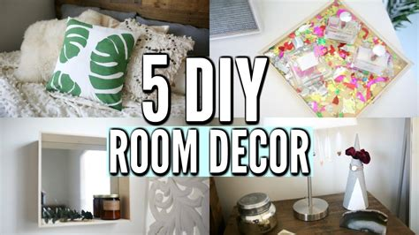 Ideas To Spice Up Your Bedroom 5 diy room decor ideas easy diy room decorations for