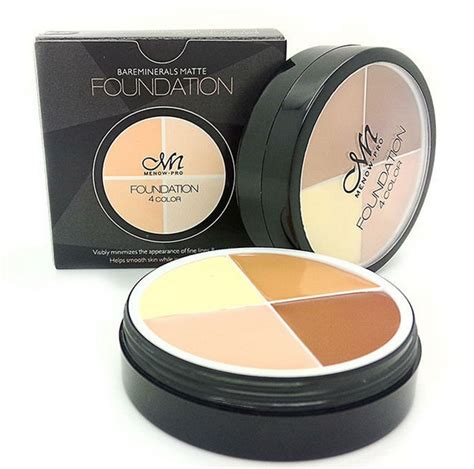 Menow Foundation Concealer No 2 wholesale best professional menow pro 4 colors foundation