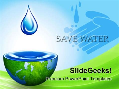 Save Environment Ppt Templates Free Save Water Environment Powerpoint Backgrounds And