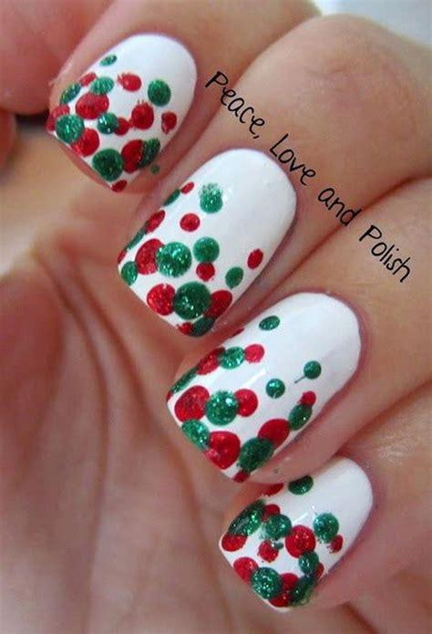cute polka dot nail designs hative