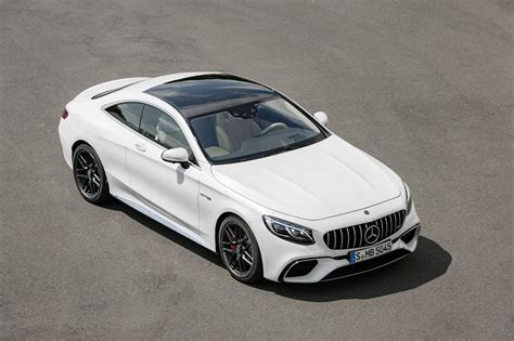 mercedes s class coupe amg 2018 mercedes amg s63 s65 coupe and cabrio get nip and