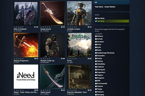 best mod games steam valve opens the valve on selling mods on steam but not