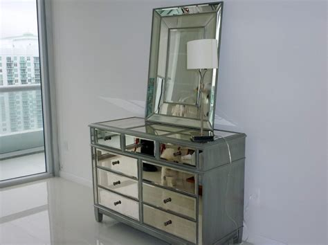 decorate a bedroom mirrored dresser mirror ideas mirror