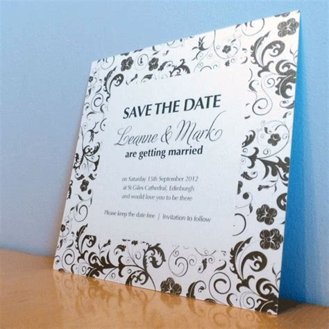 the range wedding invitations save the date card blossom wedding range wedding invitation on luulla