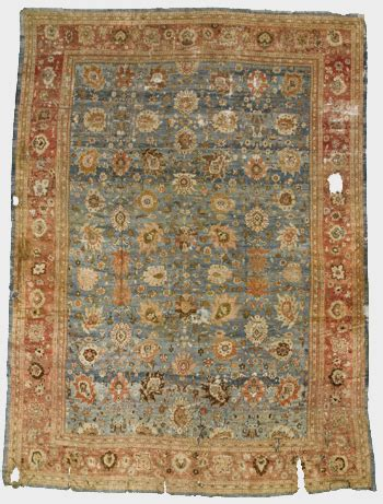 markarian rugs sky blue ziegler mahal made a strong impression at sotheby s