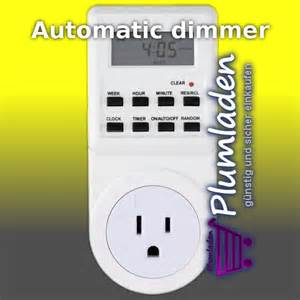 Led Dusk To Dawn Light Automatic Dimmer Time Switch Timer Plumladen