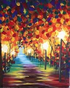 paint with a twist tulsa paint and sip in riverwalk riverwalk pinot s palette