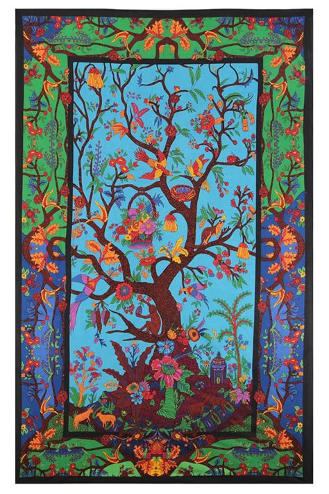 colorful tapestry 3d colorful tree of tapestry 60x90