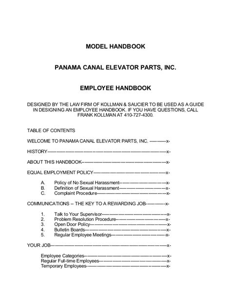 employee vehicle use agreement template employee handbook template