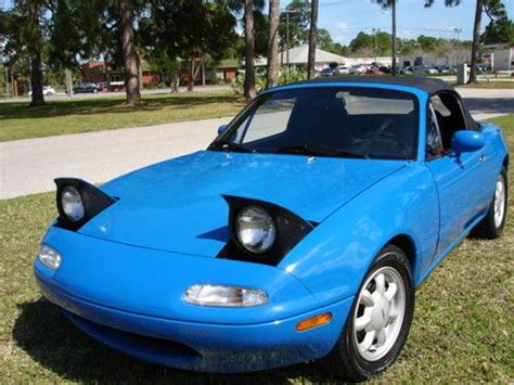 how to sell used cars 1992 mazda miata mx 5 head up display sell used mazda miata 1992 low miles in palm bay florida united states for us 5 600 00