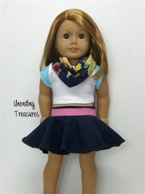 Wardrobe For Dolls Clothes 18 Inch by 18 Inch Doll Clothes Ag Doll Clothes Doll Clothes Navy
