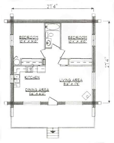 1000 sq ft floor plan log home floor plan under 1000 square feet sq ft