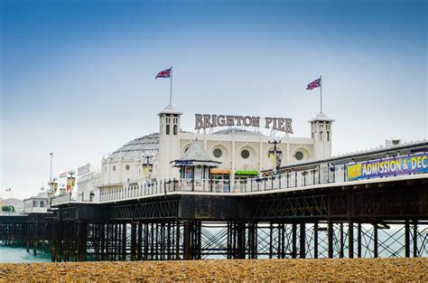 the palace pier and theatre brighton later brighton pier brighton pier on aboutbritain com