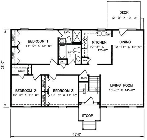 bi level house plans small bi level house plans split level home designs of
