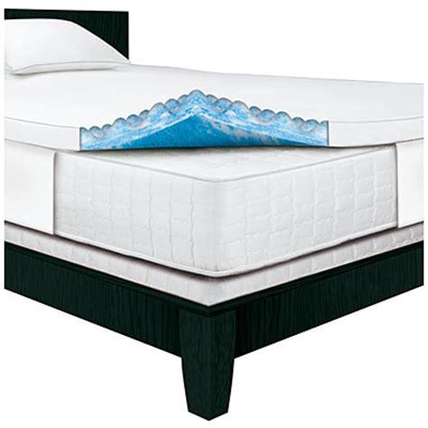 Serta Memory Foam Mattress Topper Serta Rest 174 3 Quot Gel Memory Foam Mattress Topper Big Lots