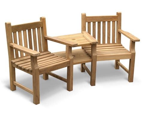 jack and jill bench taverners garden teak companion seat jack and jill seat