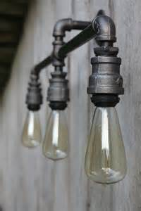 light industrial wall or ceiling sconce 3 light